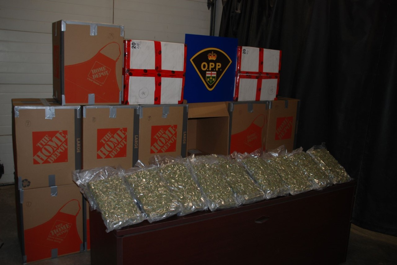 Traffic stop leads to alleged seizure of over 400 pounds of weed