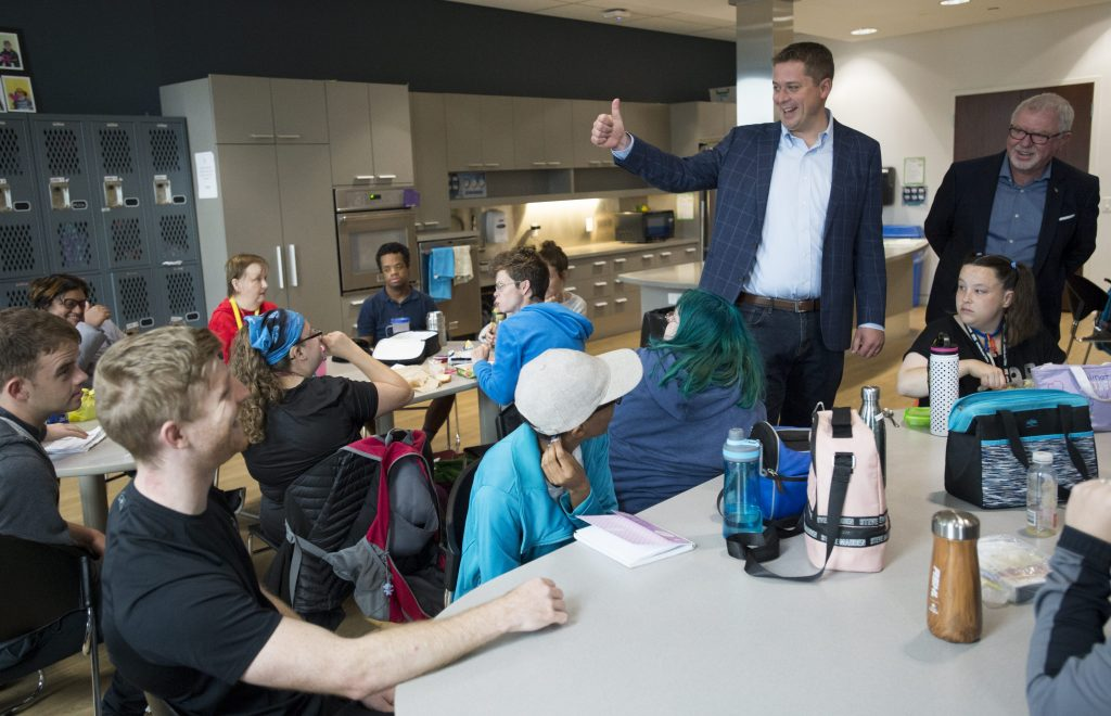 Scheer promises Tories would ease access to federal disability tax credit