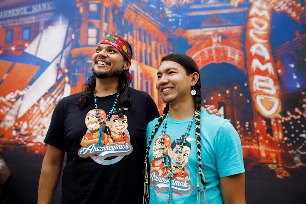 Indigenous, two-spirit couple from Alberta wins The Amazing