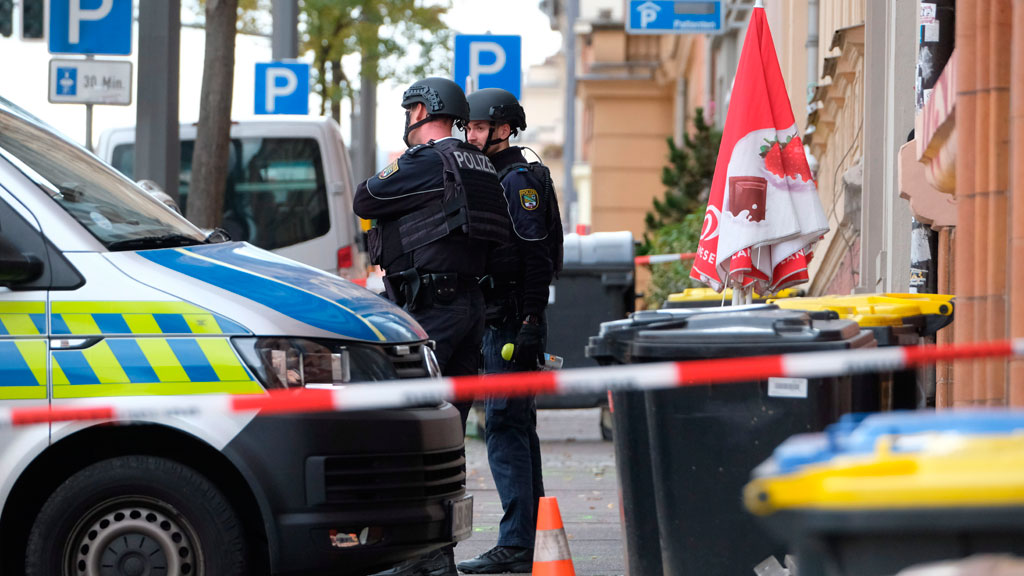 German city in shock in wake of synagogue attack