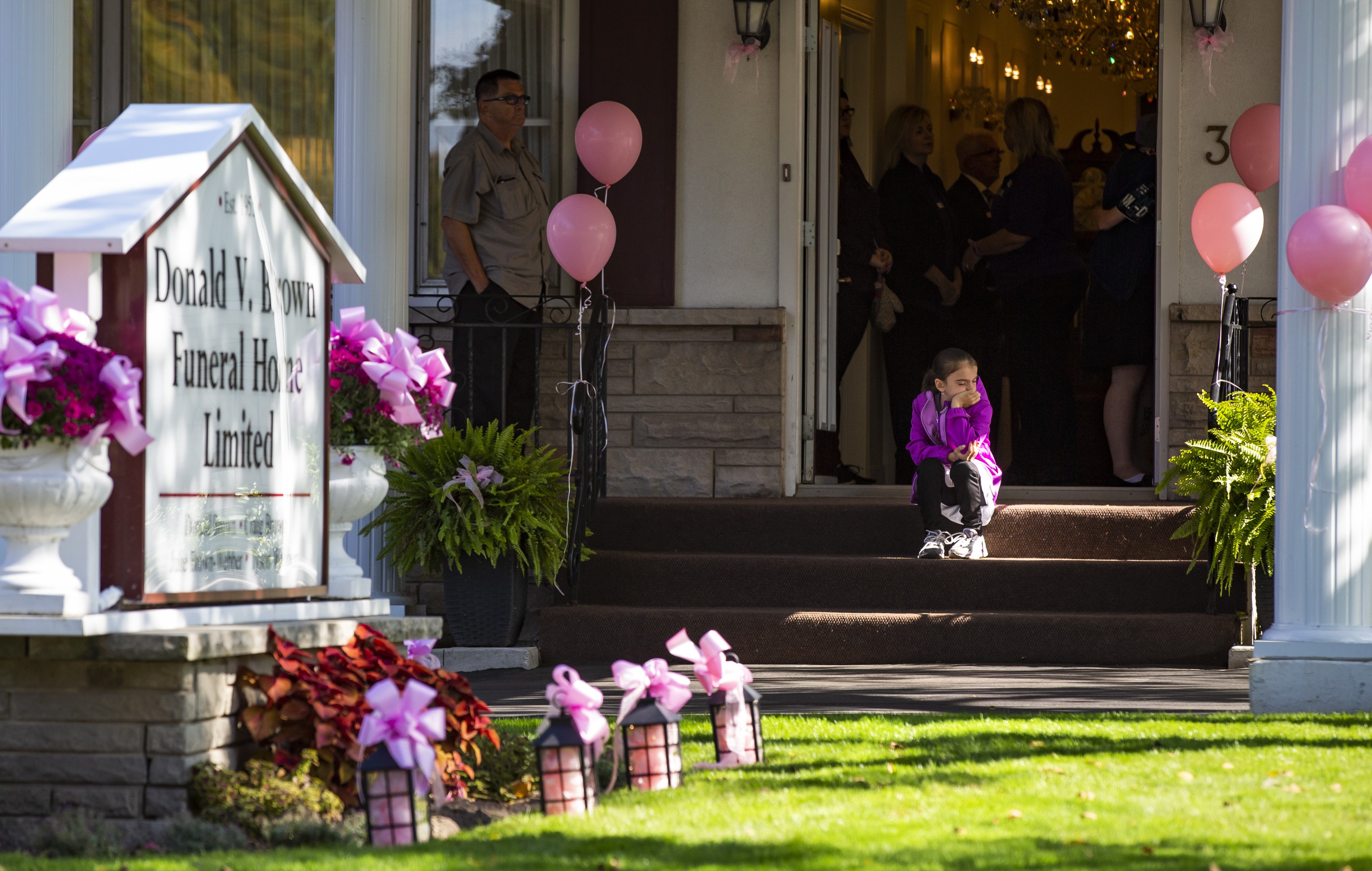 Friends, family gather to say one final goodbye to Devan Selvey