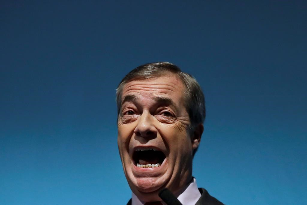 Farage tells UK voters his party is not just about Brexit