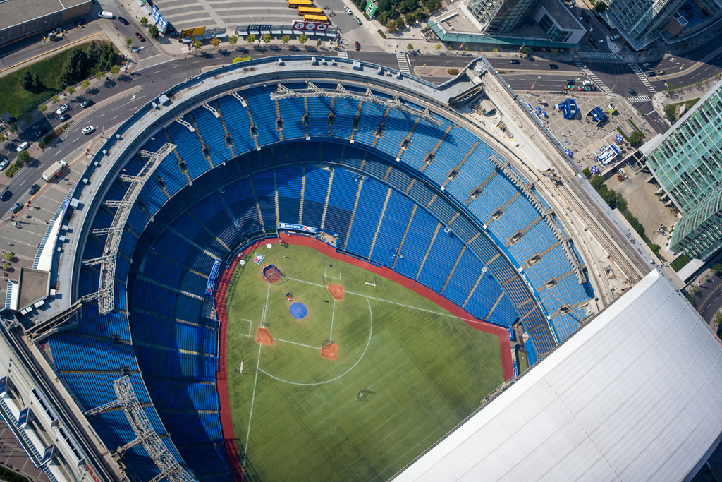 Toronto Blue Jays looking for a new home stadium