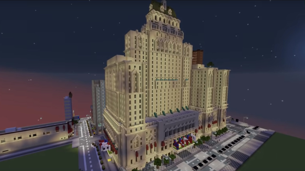 Local gamer maps Toronto in Minecraft