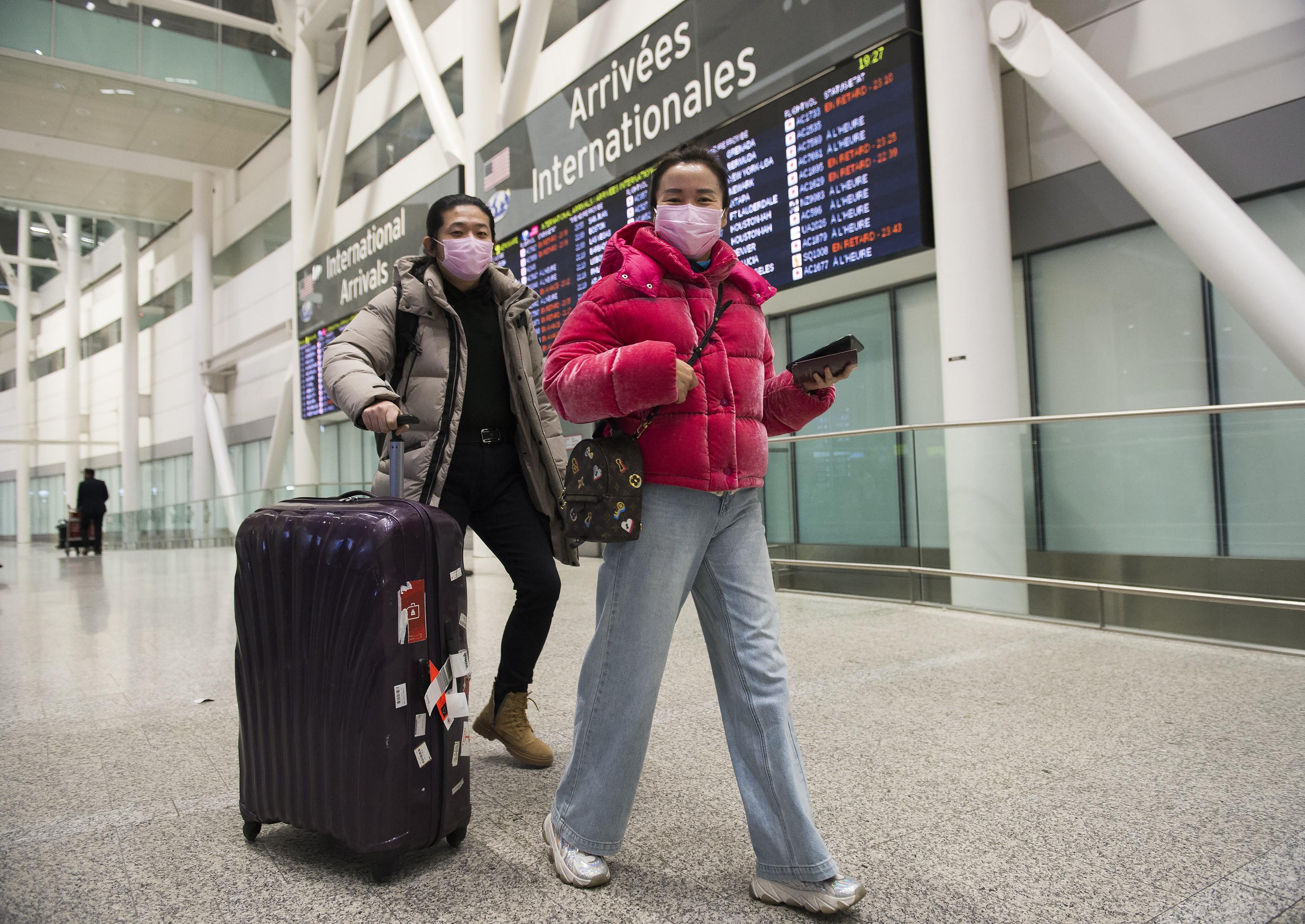 Ontario coronavirus patient showed mild symptoms on flight