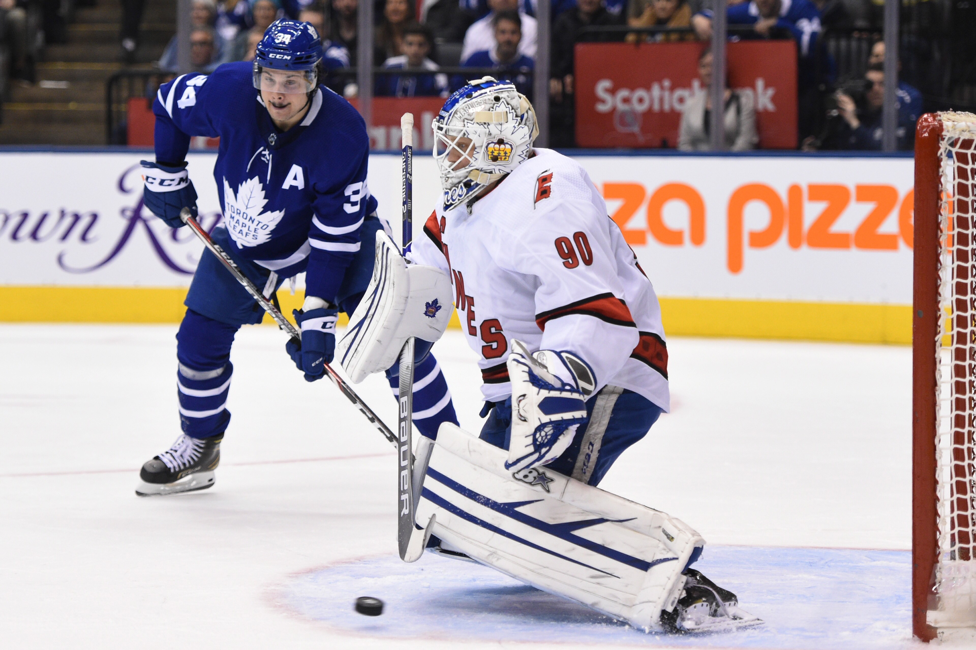 Zamboni Driver Part Time Goalie Dave Ayres Leads Carolina To Victory Over Maple Leafs Citynews Toronto