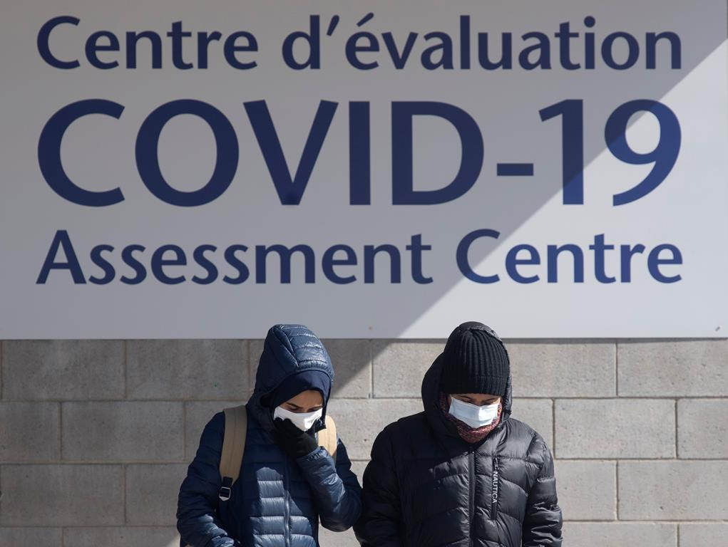 Hospital's COVID-19 assessment centre opens