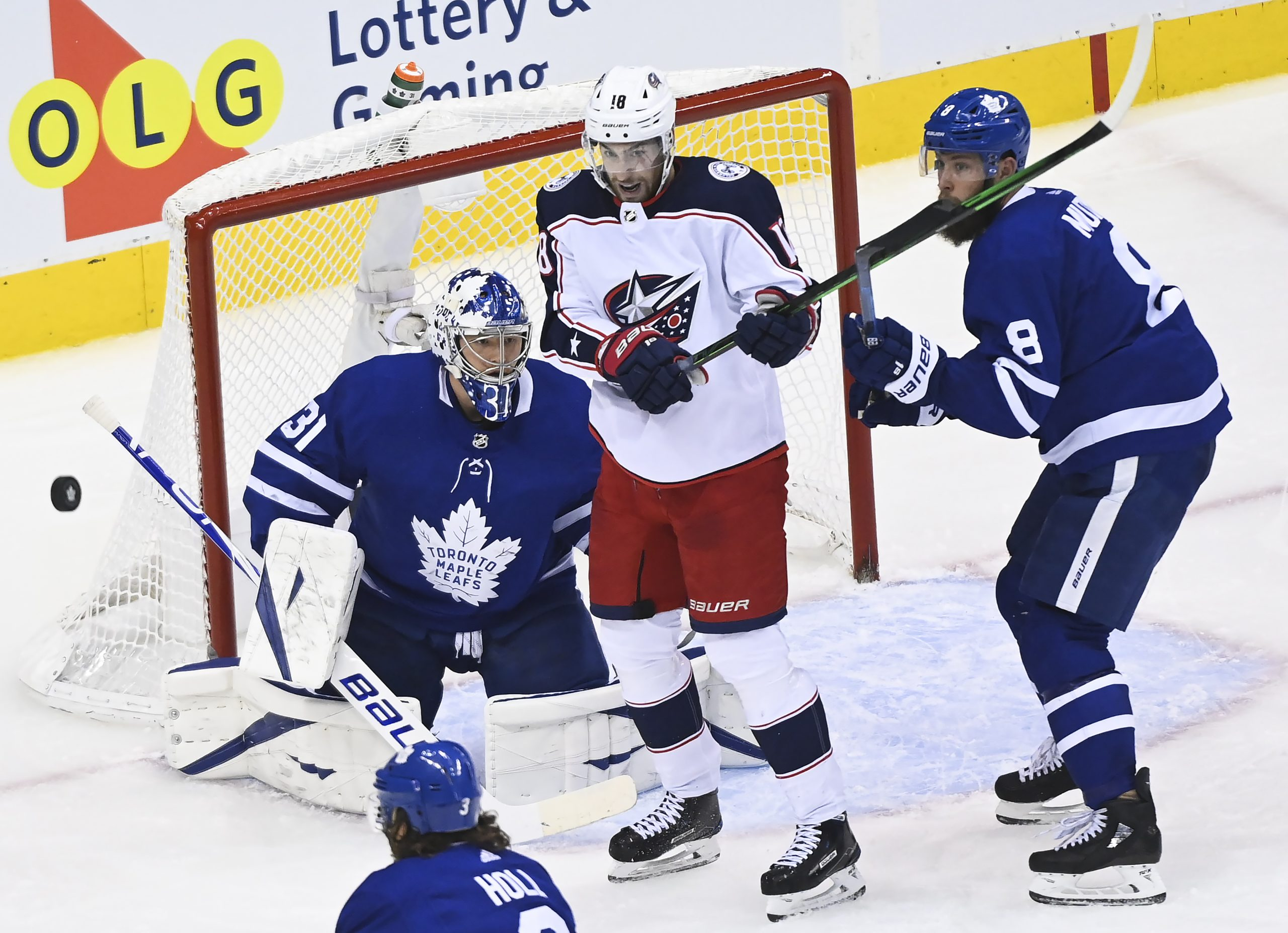 Leafs Blue Jackets Face Off In Game 3 Of Qualifying Series Citynews Toronto