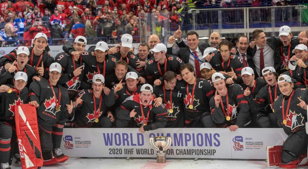 2021 world juniors to be held in Edmonton hub