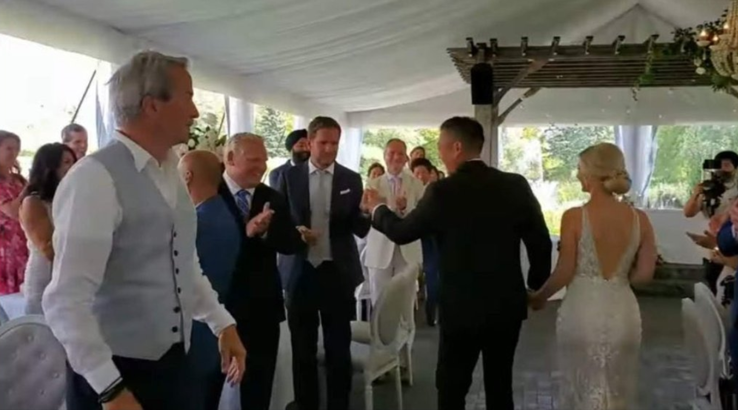 Ford Under Fire For Attending Wedding Wants Police To Crack Down On Prohibited Parties Citynews Toronto
