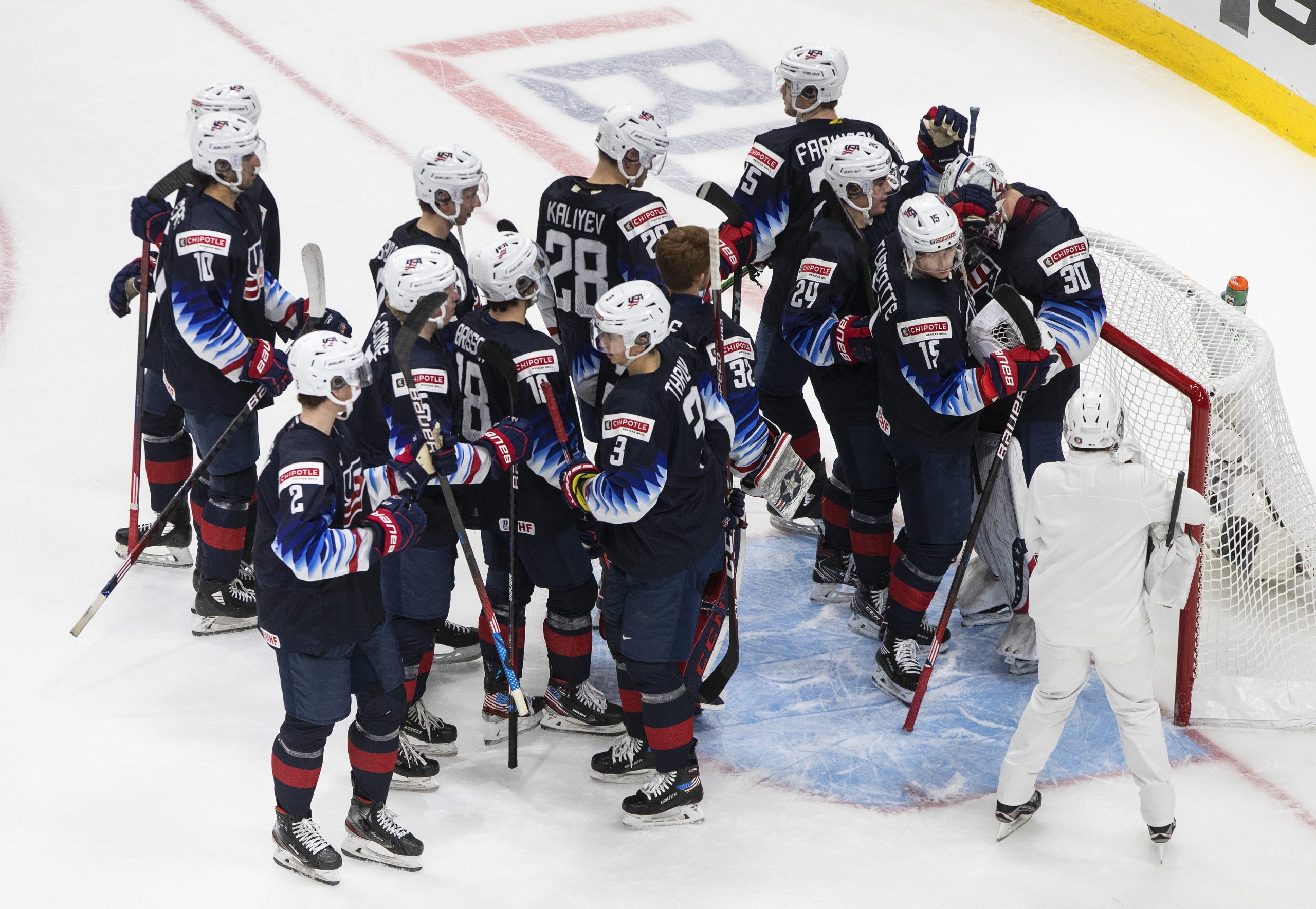 Canada Settles for Silver after Loss to the US at the WJHC