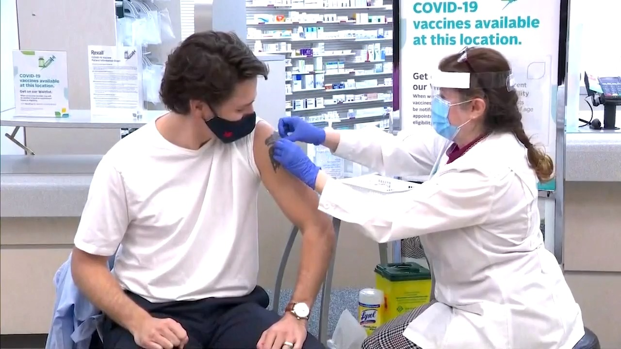 Only half of one per cent of new COVID-19 cases are in fully vaccinated: Trudeau - CityNews Toronto