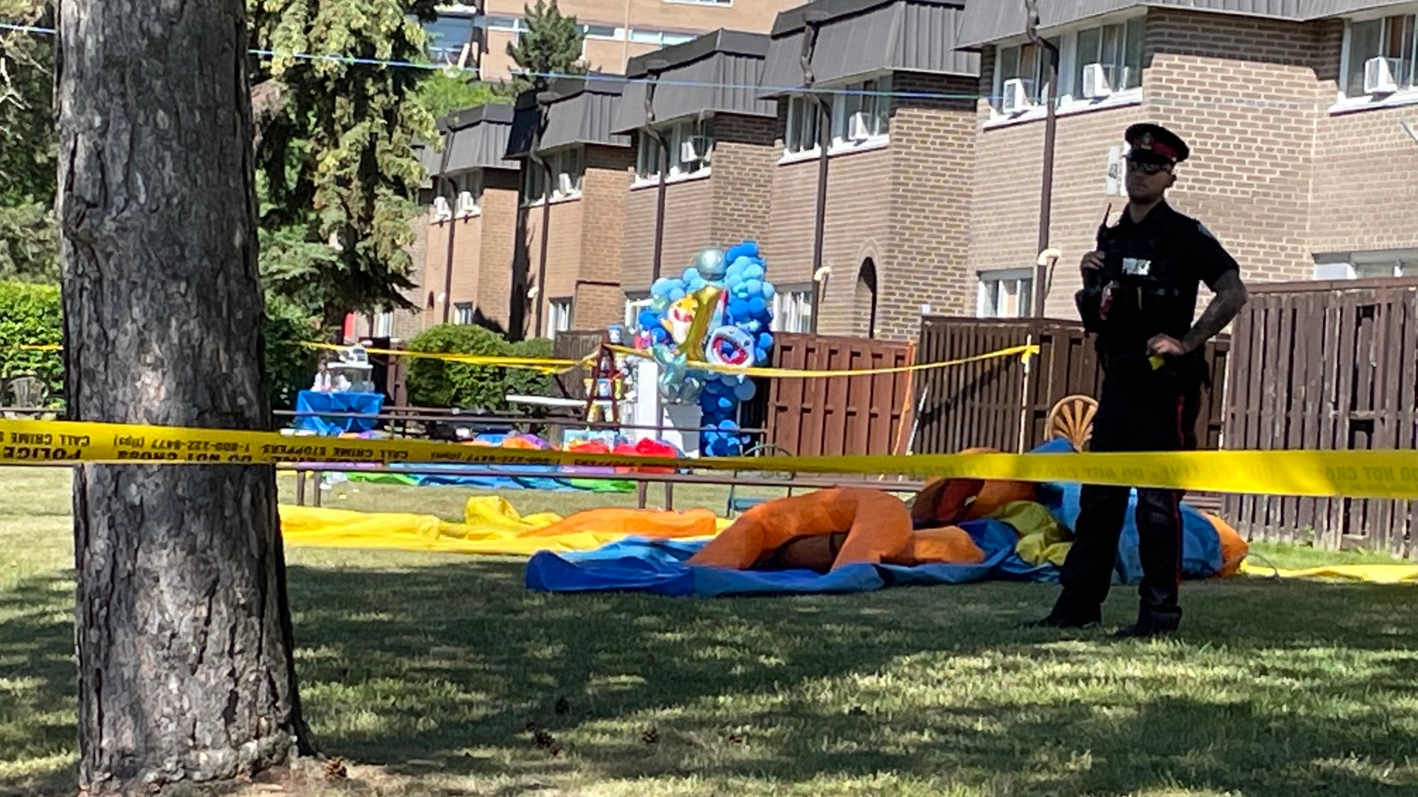 Outrage, disgust after 3 children shot at birthday party in Rexdale