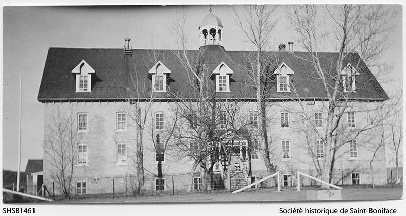 The Marieval Indian residential school. Credit: University of Regina