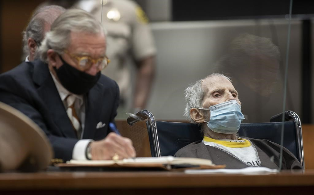 Convicted killer Robert Durst hospitalized with COVID-19, his lawyer says